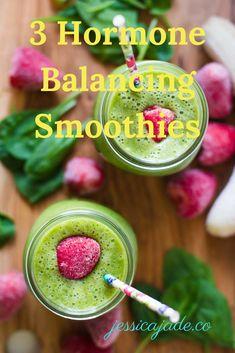 3 Hormone Balancing Smoothies — Jessica Jade