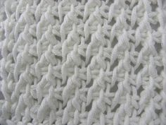Watch This Video Beauteous Finished Make Crochet Look Like Knitting (the Waistcoat Stitch) Ideas. Amazing Make Crochet Look Like Knitting (the Waistcoat Stitch) Ideas. Crochet Afghans, Tunisian Crochet Stitches, Crochet Stitches Patterns, Crochet Designs, Crochet Yarn, Crochet Symbols, Easy Crochet Projects, Crochet Videos, Beautiful Crochet