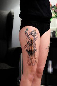 Tatuajes para mujeres en la pierna, diseños geniales | Tatuajes para Mujeres