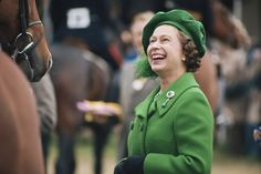 The Queen at the Royal Windsor Horse Show, 1980