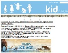 Win A Passes To See Titans Of The Ice Age At IMAX Darling Harbour Darling Harbour, Win Tickets, Rock Concert, Ice Age, Have Fun, Kids, Young Children, Boys, Children