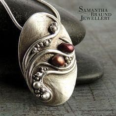Ebb and Flow Necklace III by Samantha_Braund, via Flickr http://www.samanthabraundjewellery.com/