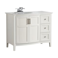 Kohler Chambly 24 In W Vanity In Linen White With Ceramic