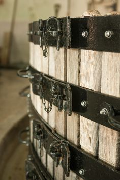 The Coquard Basket Press used by Perrier-Jouët is renowned for gently squeezing, not crushing, the grapes to create a dryer wine. #perrierjouet Please Drink Responsibly