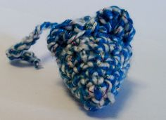 Blue Sparkle Mouse Cat toy. crinkly, rattle or cat nip by TooCuteToChew on Etsy