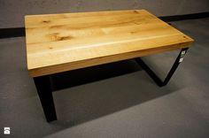 """Stolik kawowy """"Industrial Black Oak"""" - zdjęcie od Projekt Drewno - Gabinet - Styl Skandynawski - Projekt Drewno"""