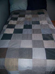 Blue Jean Blankets