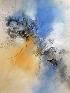 Abstrakte Kunst - Landhausstil Kunst http://www.stiane.de