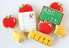 Back to School Cookies {Glorious Treats}