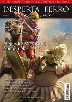 """Portada de """"Alejandro Magno (III). Gaugamela"""", n.º47 de Desperta Ferro Antigua y Medieval. © Radu Oltean"""