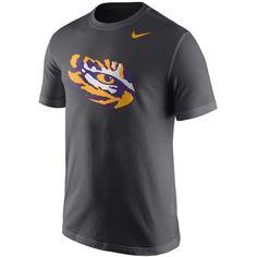 6d6e93c13 Men s Nike Anthracite LSU Tigers Logo T-Shirt
