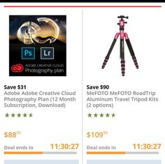 Two fantastic deals at B&H today.  Click on the link in my profile to learn more and save.  I am including a BIG discount on my Lightroom training too.  http://ift.tt/2gKOgSF