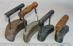 Polishing Irons for hat making….