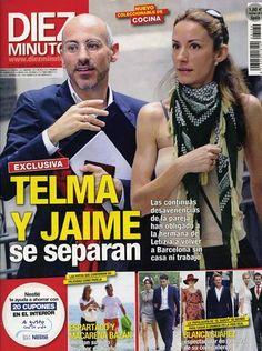 """Revistas del Corazón: Las portadas de la semana - Jueves, 27 de septiembre > """"Diez Minutos"""""""