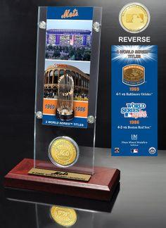 AAA Sports Memorabilia LLC - New York Mets World Series Ticket #newyorkmets #mets #nymets #mlb #mlbcollectibles #sportsmemorabilia #sportscollectibles
