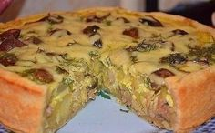 Пирог на кефире с курицей. Пойду опять за кефиром…очень удачный рецепт! 0