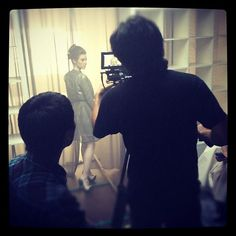 Behind the scenes sneak peek at the video shoot for the new collection!