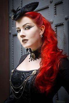Lovely image of a Dark Steam Beauty www.vipfashionaustralia.com )