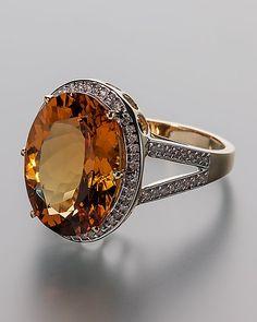 Goldberyll-Ring