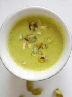 Pistachio Soup Recipe : Decorating : Home & Garden Television