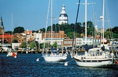 City dock, Annapolis, Md. // Wish I was here right now :)