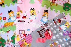 Kawaii Alice fabric