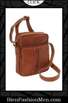 5398662cf Mens Messenger Bags ♢ Le Donne Leather Distressed Leather Men's Day Bag  $57.17 Vertical Messenger Bag