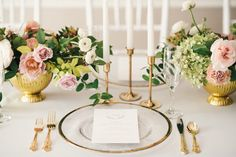 A Gorgeous Multicultural Celebration: From Start to Finish (A Ballroom Transformed into a Wedding Wonderland! Pink And Gold Wedding, Wedding Decorations, Table Decorations, Wedding News, Ballroom Wedding, Ballrooms, Floral Centerpieces, Event Planning, Floral Design