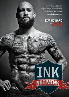 Tim Howard: Ink Not Mink
