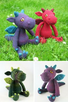 Cuddly Amigurumi Dragon
