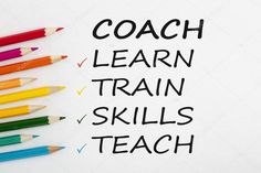 Coach written on white background concept - Stock Photo , Consulting Logo, Teaching Writing, Logo Inspiration, Logo Design, Concept, Stock Photos, Website, Learning, Study
