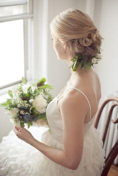 beautiful Headdress and wedding dress