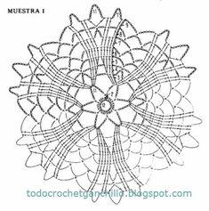 6 esquemas de crochet artístico paso a paso