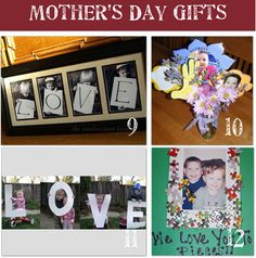 Collection of #mothersday ideas compiled by Tip Junkie.   #preschool