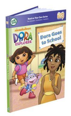 Leapfrog Tag Activity Storybook Dora The Explorer, Dora Goes To School - List price: $16.99 Price: $11.27 Saving: $5.72 (34%) + Free Shipping