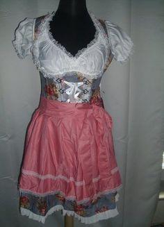 Kaufe meinen Artikel bei #Kleiderkreisel http://www.kleiderkreisel.de/damenmode/trachtenmode/111573274-dirndl-aus-denim-in-blaurosa-grosse-s-36