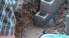 Homesteading: Laying Concrete Blocks