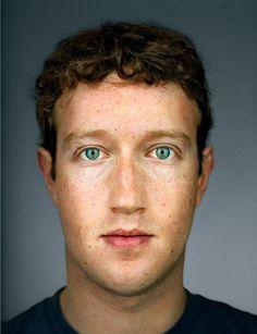 "Mark Zuckerberg ""Up Close & Personal - Celebrity Photography"" by Martin Schoeller Martin Schoeller, Iggy Pop, Bill Murray, Time Magazine, Magazine Covers, Jack Nicholson, George Clooney, Jay Z, Barack Obama"