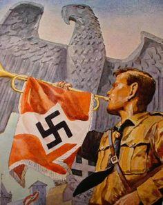 netnazi — derdeutschenmadel:   Hitler-jugend posters