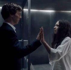 SHERLOCK S4 E3: The Final Problem. Benedict Cumberbatch & Sian Brooke