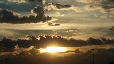 #Sunset #CloudySunset #Clouds