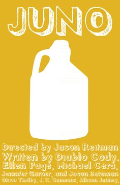 Juno (2007) - Minimal Movie Poster by Forest Knauff