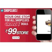 Shopclues Crazy Deals & Offers From Rs.99 Offer : Shopclues Rs 99 Store - Best Online Offer