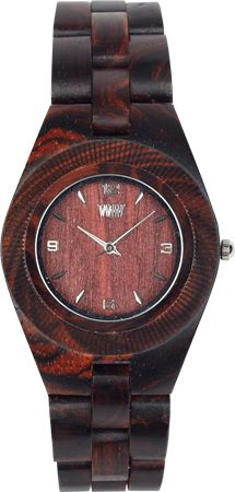 WeWOOD ODYSSEY BROWN - watch made of reclaimed wood