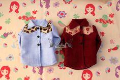 Girlish~Blythe小布娃衣 拼接衬衫(3色入)补货到-淘宝网