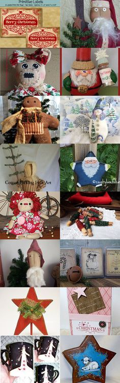 Bring out the decorations!  TeamHAHA Christmas Treasury by Sheila on Etsy--Pinned with TreasuryPin.com