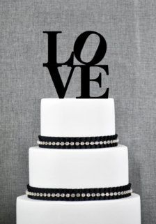 Wedding Cake Toppers - Wedding Decorations -