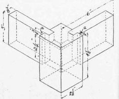 Fig. 139.   Table Leg Joint.