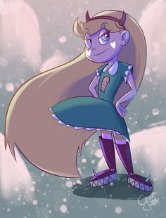 Star Butterfly from  Star vs. the forces of evil
