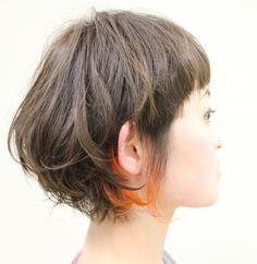 スナップ更新ーー!!! オレンジのチラみせ   角田 亜梨紗   24 NOV. 2012   LIM   LESS IS MORE